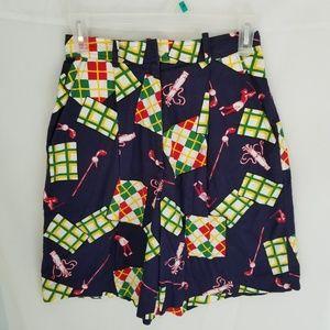 British Khaki Golf Shorts